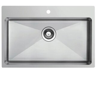 Ukinox RS710 Undermount Single Bowl Stainless Steel Kitchen Sink