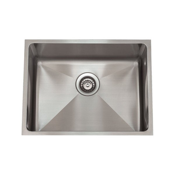 Shop 3 4 Radius Stainless Steel Sink Free Shipping Today