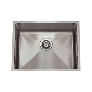 3/4 Radius Stainless Steel Sink