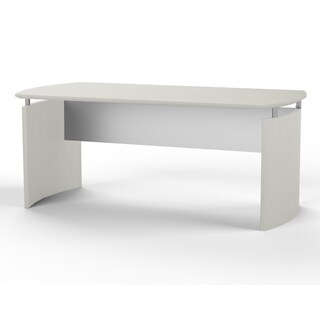 "Mayline Medina 63""W x 36""D Desk with Curved End Panels"