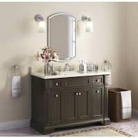 Bryon 48-Inch Marble Top Single Bathroom Vanity