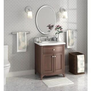 Florence 28-inch Marble Single Sink Top Vanity