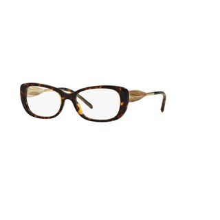 Burberry BE2203 3002 Dark Havana Plastic Butterfly Full rim Eyeglasses with 54mm Lens