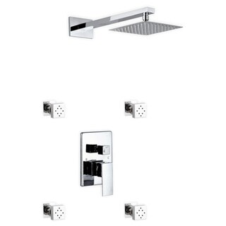 Kube Bath Aqua Piazza Chrome Brass Shower Set With 8-inch Square Rain Shower and 4 Body Jets|https://ak1.ostkcdn.com/images/products/12356285/P19183642.jpg?_ostk_perf_=percv&impolicy=medium