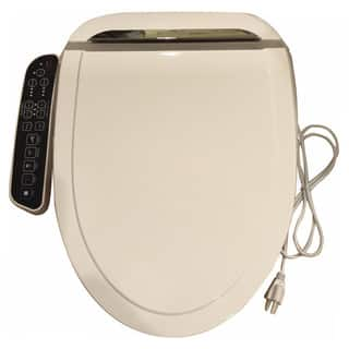Bidet4me E-260A White Elongated Electric Bidet Seat With Dryer and Deodorizer|https://ak1.ostkcdn.com/images/products/12356300/P19183741.jpg?impolicy=medium