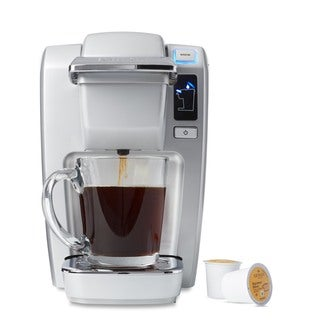 Keurig K15 Coffee Maker, Platinum