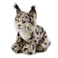 National Geographic Lynx Plush - Black/Grey
