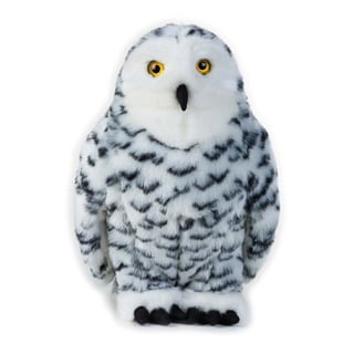 National Geographic Snow Owl Plush