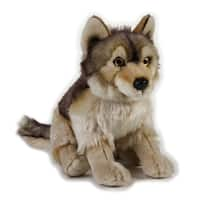 National Geographic Wolf Plush - Brown
