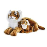 National Geographic Tiger with Baby Plush