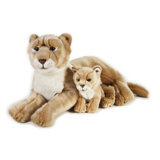 National Geographic Lioness with Baby Plush