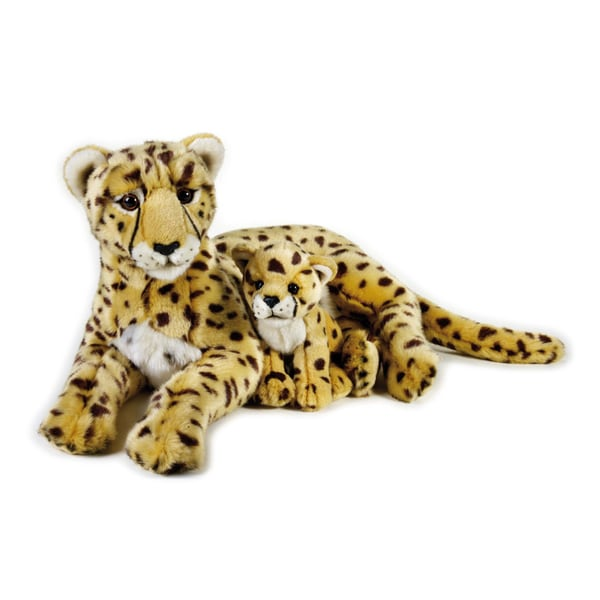 Shop National Geographic Cheetah With Baby Plush Free Shipping