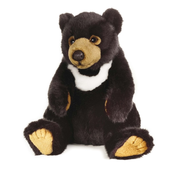 National Geographic Black Bear Plush
