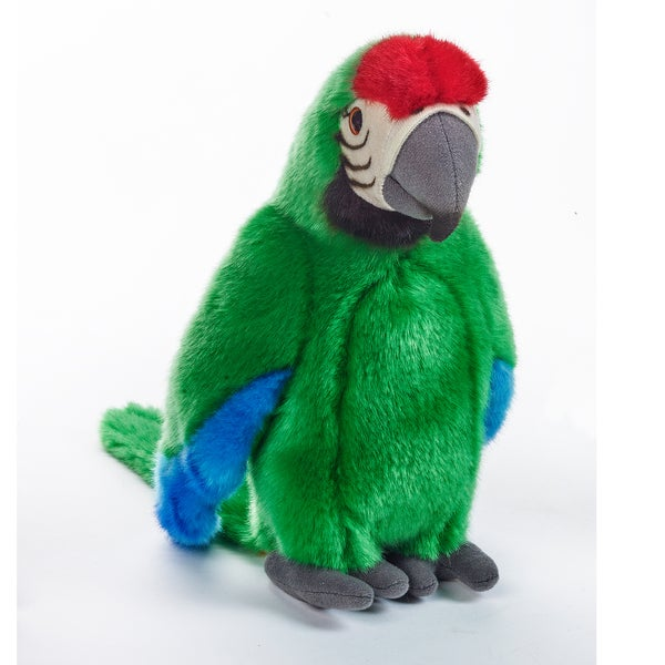 National Geographic Green Tropical Parrot Plush