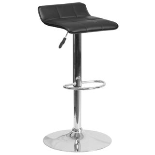 Contemporary Vinyl Barstool