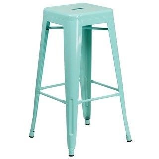 30-inch High Backless Indoor-Outdoor Barstool