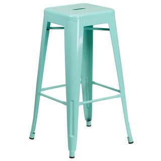 Carbon Loft Walton 30-inch High Backless Indoor-Outdoor Barstool