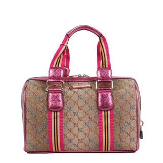 Nicole Lee NL Signature Series II Boston Handbag
