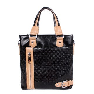 Nicole Lee Ethan Black Tote Bag