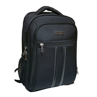 Kenneth Cole Reacdtion Scandinavia Black 17-inch Laptop Backpack