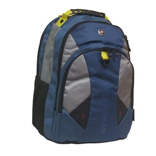 Swiss Gear Pulsar Blue 16-inch Laptop Backpack