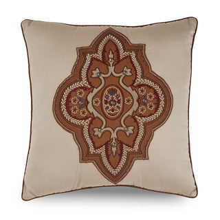 Downton Abbey Grantham Applique Decorative Throw Pillow
