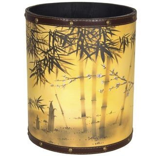 Bamboo Tree Waste Basket (China)