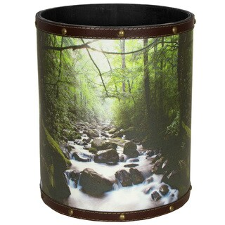 Handmade River of Life Waste Basket (China)