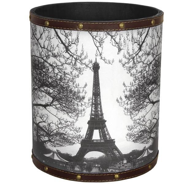 Handmade Eiffel Tower Waste Basket (China)