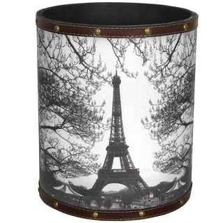 Handmade Eiffel Tower Waste Basket (China)