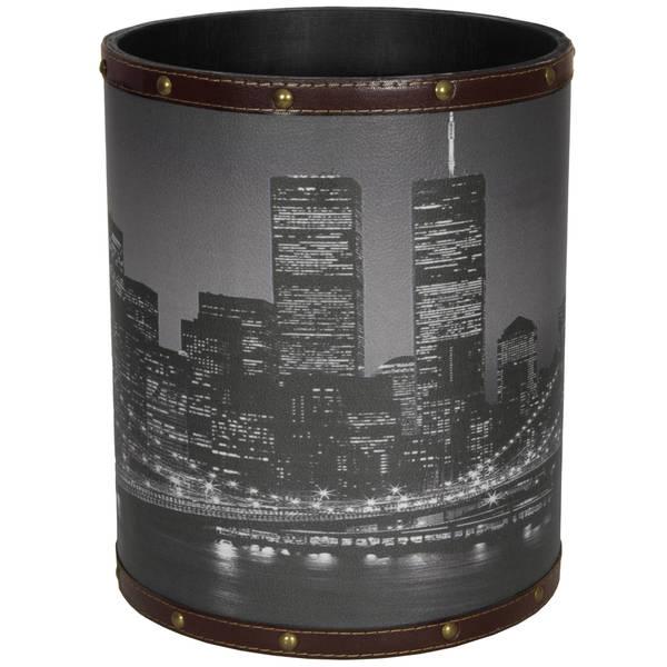Handmade Brooklyn Bridge Waste Basket (China)