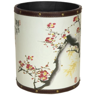 Cherry Blossom Waste Basket (China)