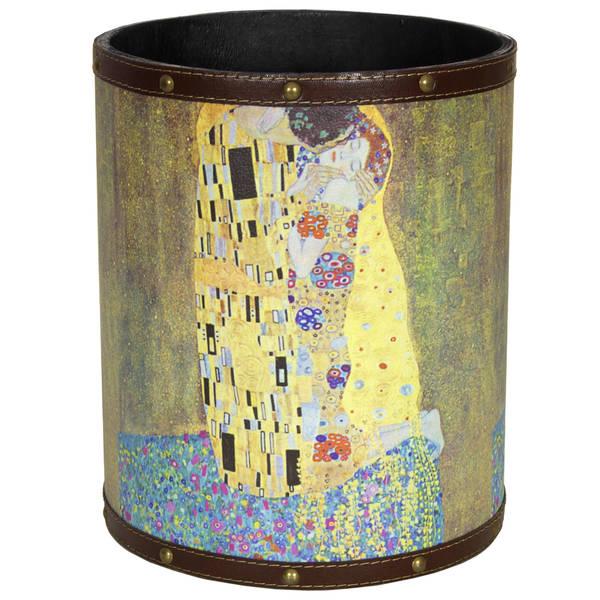 Handmade Klimt The Kiss Waste Basket (China)
