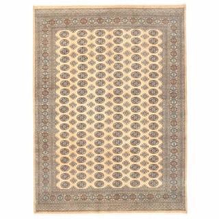 Herat Oriental Pakistani Hand-knotted Bokhara Wool Rug (8' x 10'10)