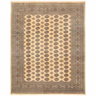 Herat Oriental Pakistani Hand-knotted Bokhara Wool Rug (8'1 x 10'2)