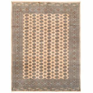 Herat Oriental Pakistani Hand-knotted Bokhara Wool Rug (8'1 x 10'8)