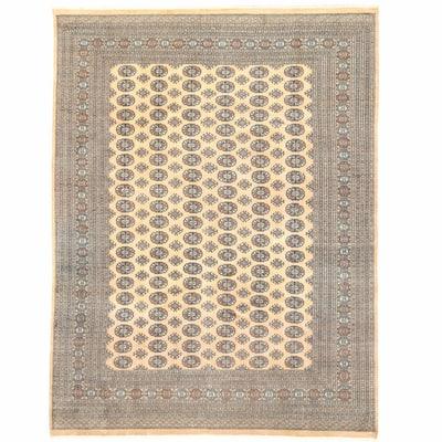 Handmade One-of-a-Kind Bokhara Wool Rug (Pakistan) - 9' x 12'2