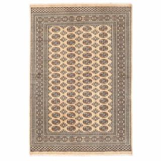 Herat Oriental Pakistani Hand-knotted Bokhara Wool Rug (5'11 x 8'10)