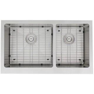 Stratus Bernard 16-Gauge Stainless Steel 35-15/16 x 20-15/16 x 10-3/8 / 10-3/8 in. D Sink