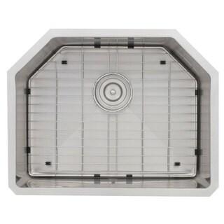Stratus Vinson 16-gauge Stainless Steel 23-3/4 x 18-3/4 x 10 in. D Sink