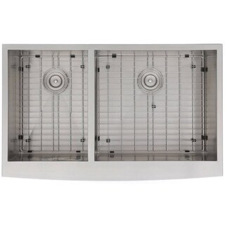 Zero Edge Cartesian Stainless Steel Reversed Handcrafted 18-gauge Sink