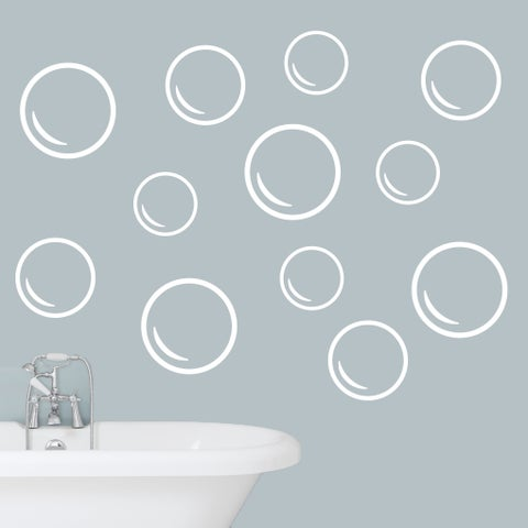 Bubbles Wall Decals Set - LARGE