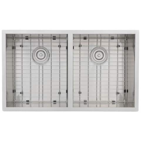 Zero Edge Meridian Handcrafted 18-gauge Stainless Steel 32 x 19 x 10-5/16 / 10-5/16 in. D Sink