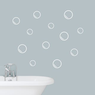 Bubbles Wall Decals Set - SMALL