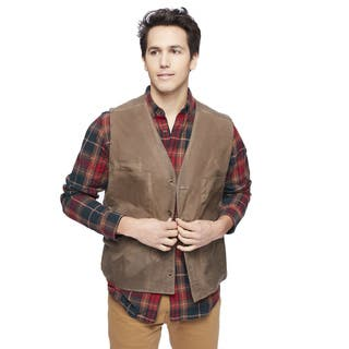 Stormy Kromer The Waxed Button Vest with Lining https://ak1.ostkcdn.com/images/products/12357235/P19184503.jpg?impolicy=medium