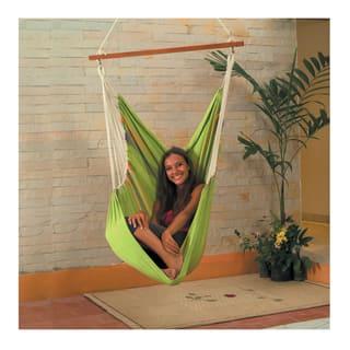 Cotton Fabric Hammock Swing (Green)|https://ak1.ostkcdn.com/images/products/12357253/P19184496.jpg?impolicy=medium