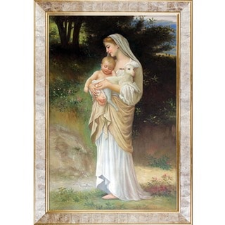 Bouguereau 'Innocence, 1893' Hand Painted Framed Canvas Art