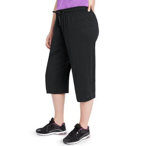 Champion Women's Plus Jersey Capri Pants