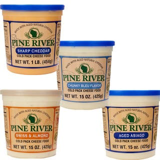 Pine River's Artisan Gourmet Cheese Spreads (Pack of 4) https://ak1.ostkcdn.com/images/products/12357778/P19184956.jpg?impolicy=medium