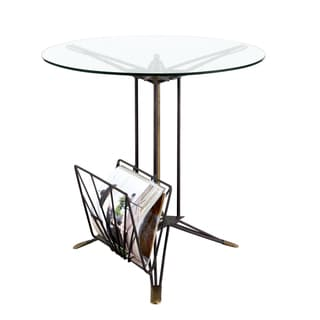 Art Deco Magazine End Table